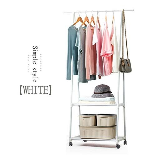 Leshared Garderobestandaard, vlies, roestvrij staal, eenvoudige montage, afneembaar, voor slaapkamer, verhuizing, driehoek, meubels