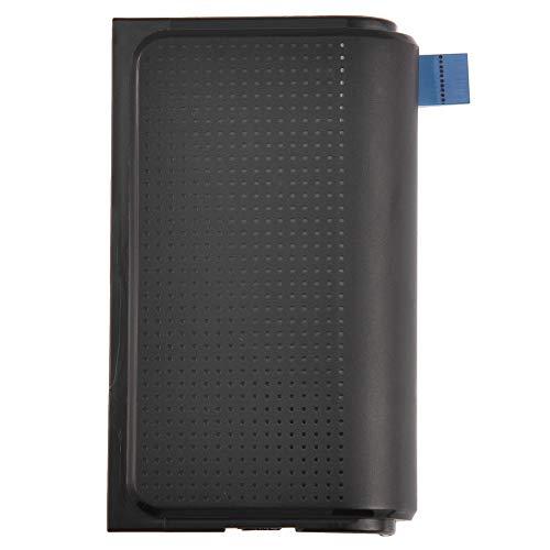 Conkergo Pad De Reemplazo De Reemplazo De ABS Portátil 1PC para Sony PS4 Controlador De Juego Negro