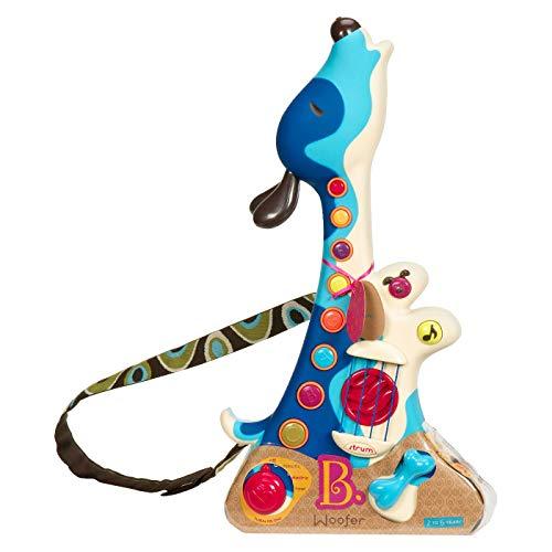 B Woofer Hound Dog Guitar.