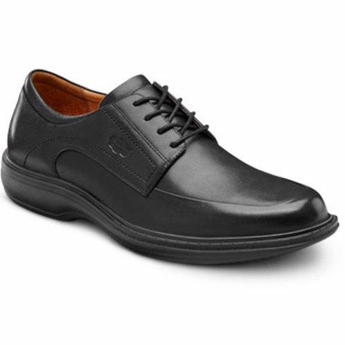 Dr. Comfort Classic Men's Therapeutic Diabetic Extra Depth Dress Shoe Leather LaceBlack 8...