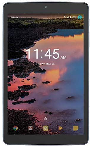 T-Mobile A30 Alcatel 4G LTE / WiFi Tab, 8in Inch Display, 16 GB, (Navy Blue), Cellular GSM Ready Tablet by TMobile Wireless (Renewed)