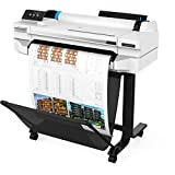 HP DesignJet T530 Large Format Wireless Plotter Printer - 24', with Mobile Printing (5ZY60A)
