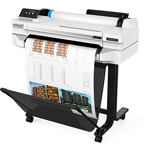 HP DesignJet T530 Large Format Wireless Plotter Printer - 24