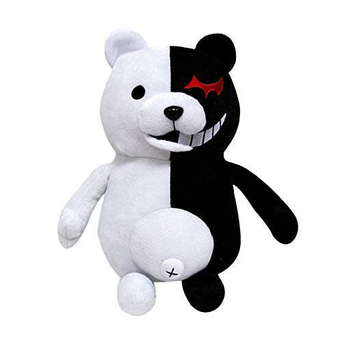 Bowinr Danganronpa: Monokuma Plush Toy, 10 inch Super Cute Anime Plush Doll Toy for Home Sofa Decor