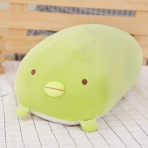 Zzlush Plüsch-Puppe Figur Spielzeug-Kissen-Tier, Japanese Animation Sumikko Gurashi Plüschtiere Corner Bio Karikatur-Puppe for Kinder Valentine Geschenke (Color : A, Größe : 80CM)