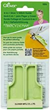 CLOVER Needlecrafts 9584 3 Piece 6-in-1 Stick 'n Stitch Guide by Nancy Zieman