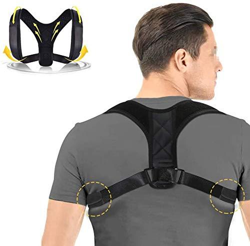 JSDKLO Haltungsorthese, Rückenstütze - Unisex Anti-Buckel-verstellbare Rückenkorrekturhalterung