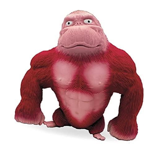 ZHAOCI Juguetes de Figuras de Anime, Juguetes de Figuras de Animales Salvajes, Mono de látex, Juguetes de Gorila, Figuras de Animales de la Selva, niños