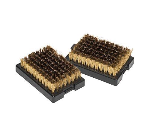 Outdoorchef Grillreinigung, Ersatzbürstenköpfe zu Bürste Gross, 2 Stück, schwarz, 12 x 5 x 21,1 cm, 14.421.25