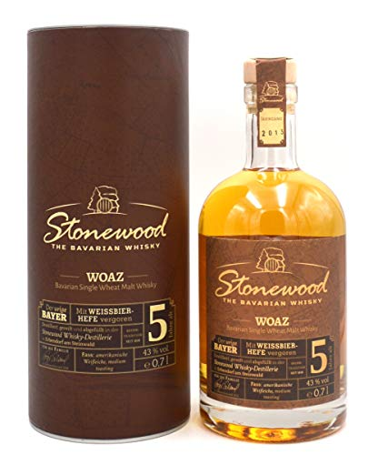 Stonewood Woaz Single Wheat Malt Whisky 7 Jahre 0,70l