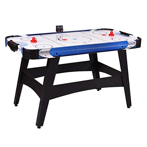 Enjoy Fun Family Friend Perfect Easily Play Indoor Game Sports Air Powered Hockey Table 54', Home