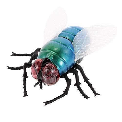 Fun Game Toys und Zubehör Realistische RC Stubenfliege Spielzeug, Infrarot Fernbedienung Mock Gefälschte Fliege Riesige Stubenfliege RC Neuheit Spielzeug Modell Streich Insekten Witz Scary Trick Bugs