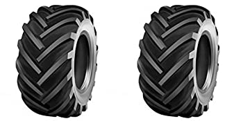 DEESTONE D408 Two 26X12.00-12 26x12-12 Industrial/Utilty Lug Tires 10 ply Rated Heavy Duty