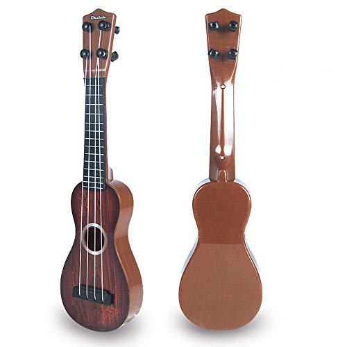 SMARTRICH Pequeño Ukelele de Madera de simulación de Grano, Guitarra Retro, Juguete para...