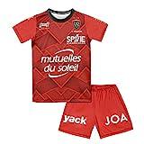 HUNGARIA Ensemble Maillot Short extérieur RCT Toulon - Collection Officielle Enfant 1 an