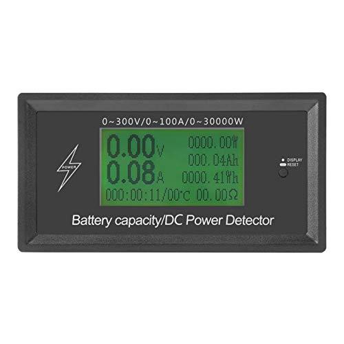 Astibym Detector del probador de energía de la Capacidad de la batería de la exhibición del multímetro para los probadores múltiples