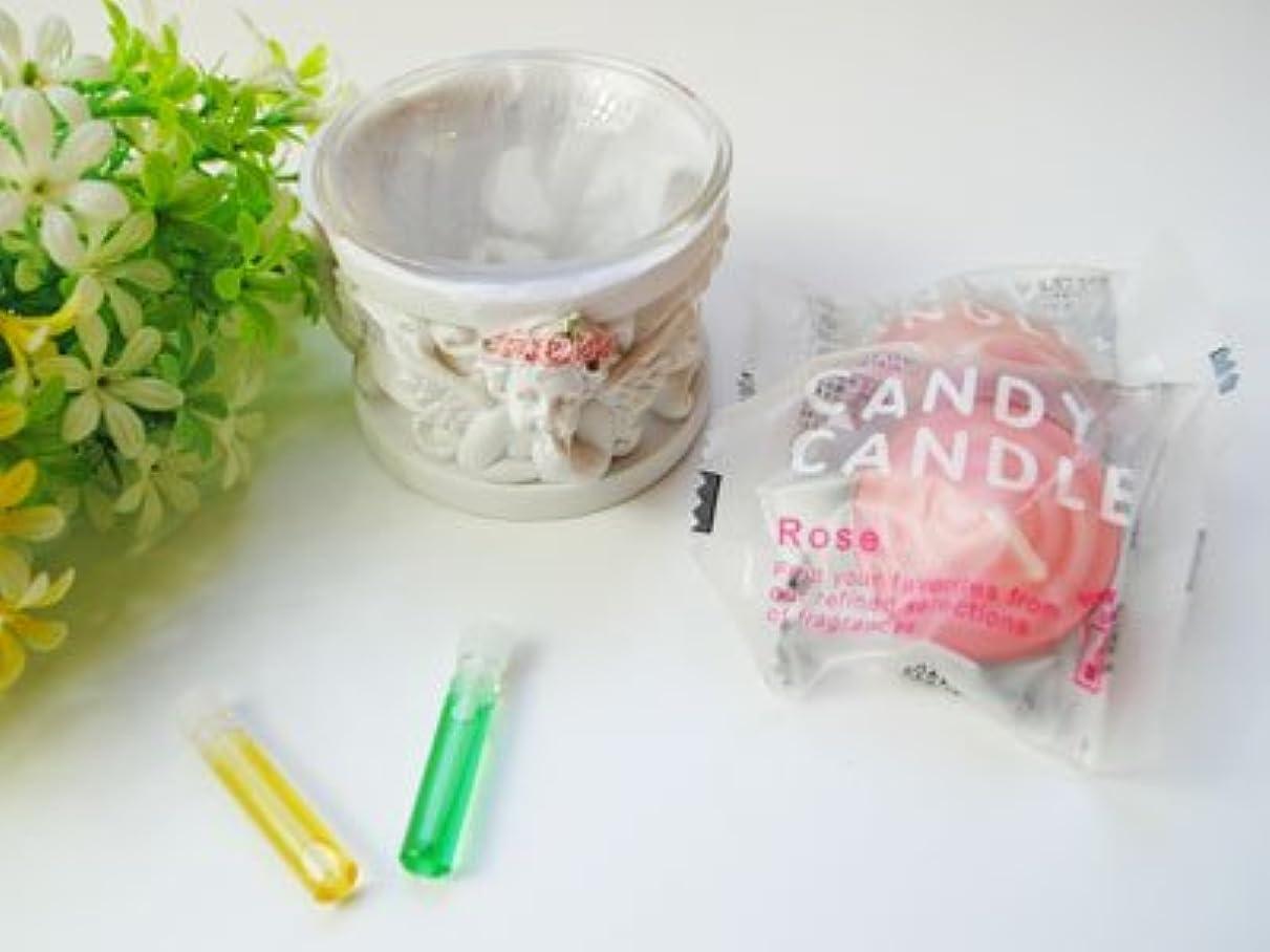 大西洋スペシャリスト告発Happy キャンドルセット セットでお得 天使のキャンドルホルダー キャンドル メモリーオイルプレゼント