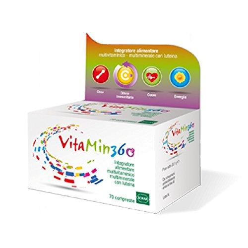 Sofar 7975 Vitamin 360 Multivitaminico Multiminerale, 70 Compresse
