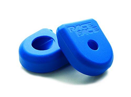 RaceFace a10066blu Protecciones para bielas de Bicicleta, Azul