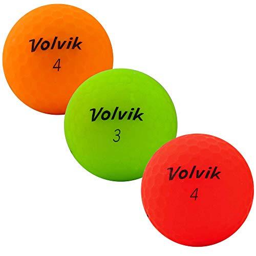 lbc-sports Volvik Vivid matt Golfbälle - AAA - bunt - Lakeballs - gebrauchte Golfbälle - Teichbälle (25 Bälle)
