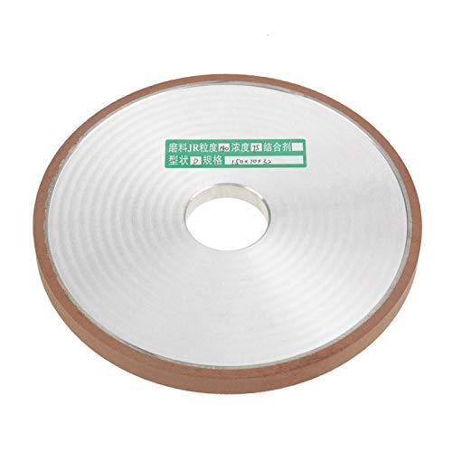 Herramienta de molienda Muela abrasiva de diamante para pulido de cortador de pulido 150 * 32 * 10 mm para pulido de procesamiento de carburo grano 180