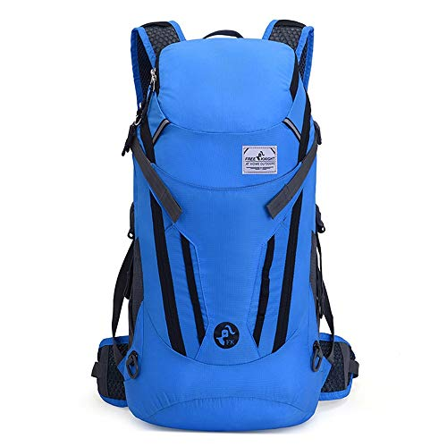 Lightweight Packable Travel Hiking Backpack Lightweight Packable Travel Backpack Daypack 30L Foldable Camping Backpack Ultralight Outdoor Sport Backpack Camping Backpack ( Color : Blue , Size : 30L )