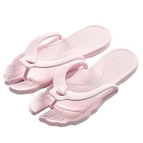 ZOGBX Zapatillas para Mujer Chanclas De Verano para Mujeres, Viajes Hombres Y Mujeres Playa Chanclas, Sandalias De Ducha Zapatillas De Baño, Accesorios De Viaje Plegable Plegable Liviano Suela Suave