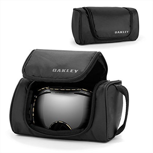 Oakley 08-011 - Estuche para gafas de esquí, color negro, talla única