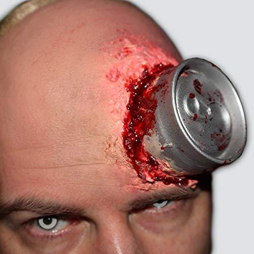 Psycho Can 2.0-der Nachfolger-Halloween-Dose im Kopf-FX Set-Latex-Schminke-Make up-Horror Zombie