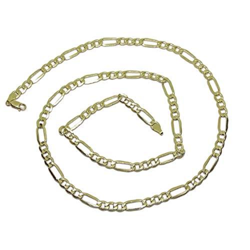 Robusta catena in oro giallo 18kt per uomo larga 6mm e lunga 60cm con chiusura a moschettone per la massima sicurezza Peso; 11.70gr di oro della 18k