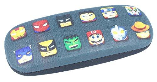 Cool brillenkoker voor kinderen met superhelden.