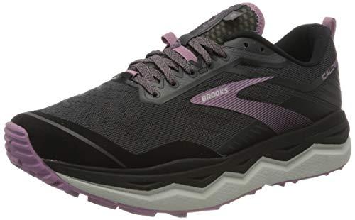 Brooks Damen Caldera 4 Running Schuhe, Schwarz (Black/Grey/Valerian), 41 EU