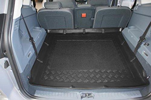 Kofferraumwanne mit Anti-Rutsch passend für Ford Grand C-Max 7-Sitzer 11/2010- mit umgelegter 3. Sitzreihe