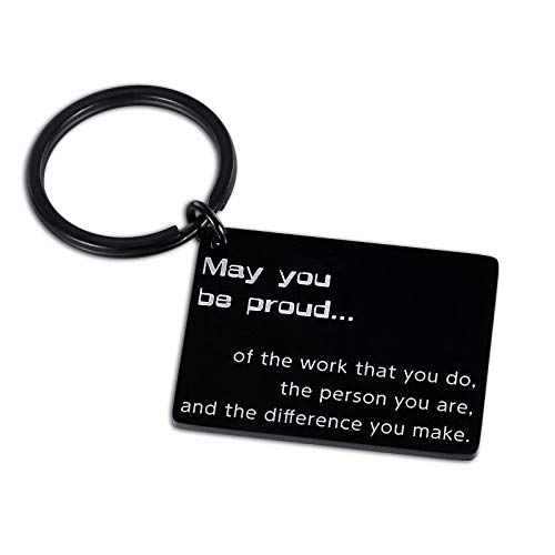 Coworker Christmas Gifts for Women Men Thank You Keychain Gifts Employee Appreciation Gifts Coworker Leaving Gifts for Colleague Boss Leader Friends Coach Mentor Retirement Farewell Goodbye Present