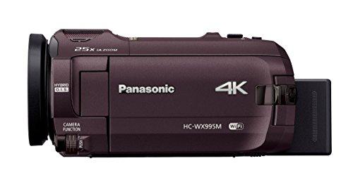 パナソニック4KビデオカメラWX995M64GBワイプ撮りあとから補正ブラウンHC-WX995M-T