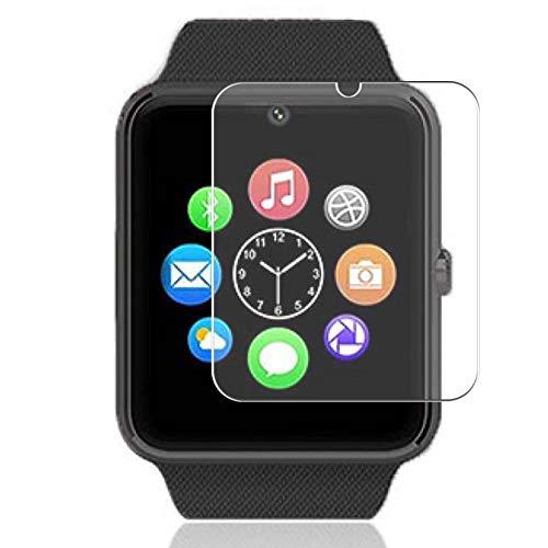 Vaxson Protector de Pantalla de Privacidad, compatible con DOHAOOE GT08 Smart Watch [no vidrio templado] TPU Película Protectora Anti Espía