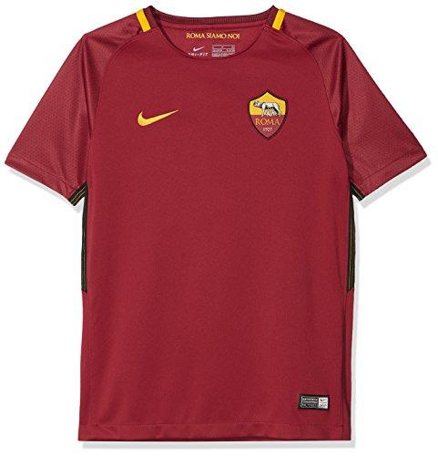 Nike Kinder Trikot Breathe A.S. Roma Stadium, Team Crimson/University Gold, L, 847417-613