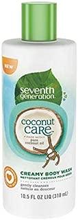 Seventh Generation Coconut Care Creamy Body Wash 10.5 fl oz Pure Coconut Oil