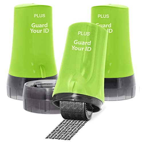 Guard Your ID Advanced Rollers Identity for Theft Prevention and Security 3-Pack Green