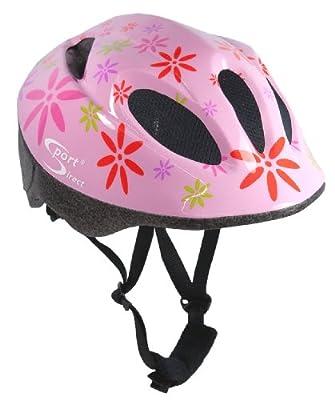 Sport DirectTM Pink FlowerTM Children's Girls Helmet Pink 48-52cm