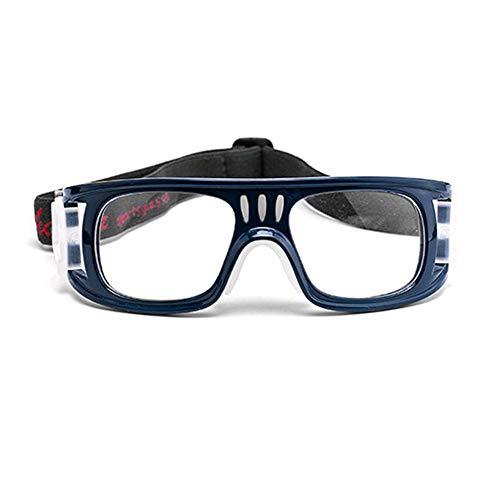 DishyKooker Sportbrillen Basketball Brillengestell Brillen Brillenfassungen Outdoor Training Zubehör Für Jugendliche Schutz Saphir