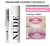Powerful Volumizing Augment ation PLUMPING Siero Lip Gloss Formula Ted by a Team Of Doctors Natural Chilli Cinnamon Safe reversibile AS AN Alternative to Lip Fillers | Lip Plumper