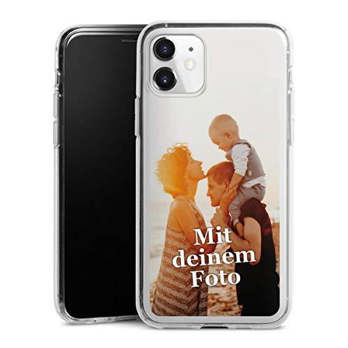 DeinDesign Silikon Hülle kompatibel mit Apple iPhone 11 Handyhülle Case Selbst Gestalten Personalisieren Zum Anpassen