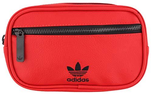 adidas Originals Originals PU Leather Waist Pack Technical-Fanny, Unisex Adulto, Escarlata, Talla única