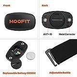 Zoom IMG-1 moofit bluetooth ant cardiofrequenzimetro con