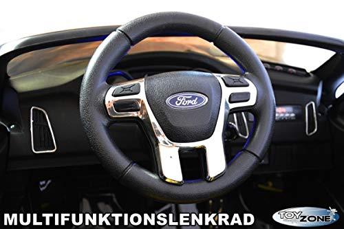 RC Auto kaufen Kinderauto Bild 5: ToyZone Kinderfahrzeug 12V Kinderauto Kinder Elektro Auto Ford Focus RS MP3 USB Ledersitz Eva Gummiräder 2,4 GHZ*