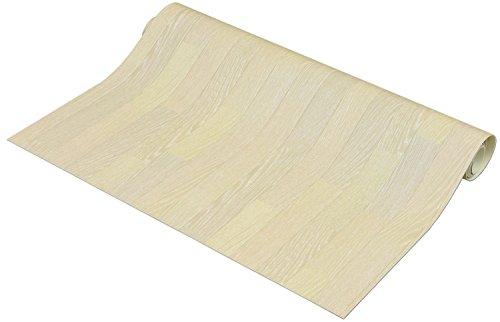 フリーカット 敷くだけリメイク床シート 木目 約90×100cm