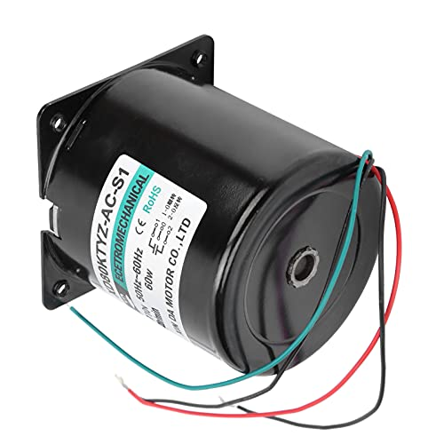 IP20 AC Synchronous Motor Eccentric Shaft Permanent Magnet Slow Speed Large Torsion 60W XD80KTYZ Micro Motor (20rpm/min 110V)