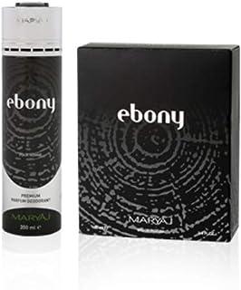 MARYAJ Ebony Gift Set For Men (Edp 100 ml + Deo Spray 200 ml)