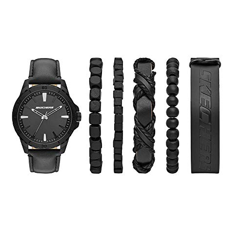 Reloj Skechers Men's Accessory Set para Hombres 45mm